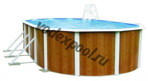 Сборный бассейн Atlantic Pools Esprit-Big (10.0 × 5.5 × 1.32 м)
