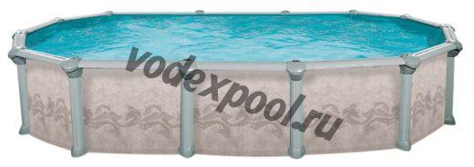 Сборный бассейн Atlantic Pools J-4000 Gibraltar (5.5 × 3.7 × 1.32 м)