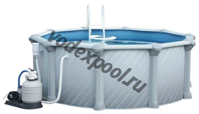 Сборный бассейн Atlantic Pools J-4000 Gibraltar (7.3 × 1.35 м)