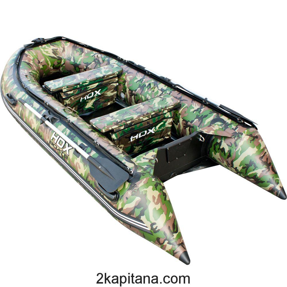 Лодка HDX Carbon 330 камуфляж