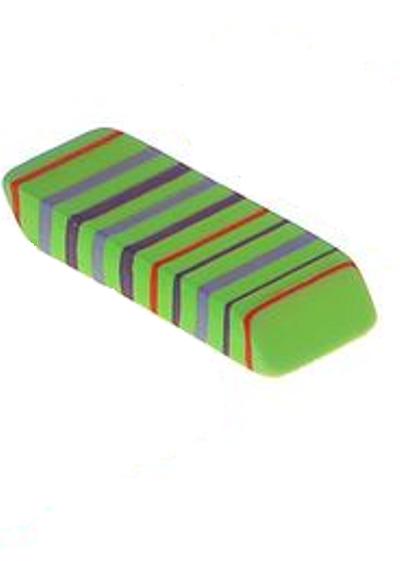 Зеленый ластик прямоугольный