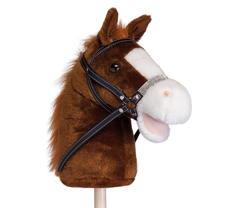 Уздечка для игрушечной лошадки со стразами