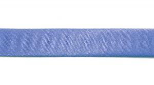 Косая бейка, атласная, ширина 15 мм, цвет: темно-сиреневый, 131,6 метров