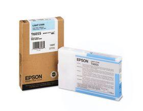 Картридж оригинальный EPSON T6055 светло-голубой для Stylus Pro 4880 C13T605500