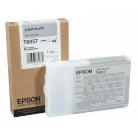 Картридж оригинальный EPSON T6057 серый для Stylus Pro 4880 C13T605700