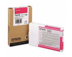 Картридж оригинальный EPSON T605B пурпурный для Stylus Pro 4880 C13T605B00