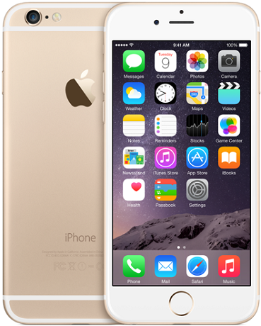 Apple iPhone 6 Plus 128GB LTE Gold