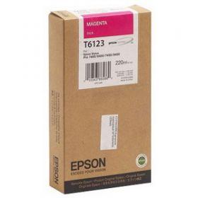 T6123 Картридж оригинальный EPSON  пурпурный  C13T612300