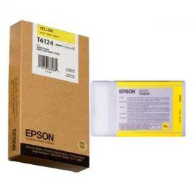 Картридж оригинальный EPSON T6124 желтый для Stylus Pro 7450/9450 C13T612400