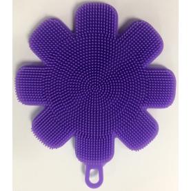 J&C Globac Эко-спонж Миг фиолетовый