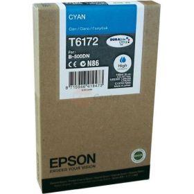 Картридж оригинальный EPSON T6172 голубой повышенной емкости для B500 C13T617200