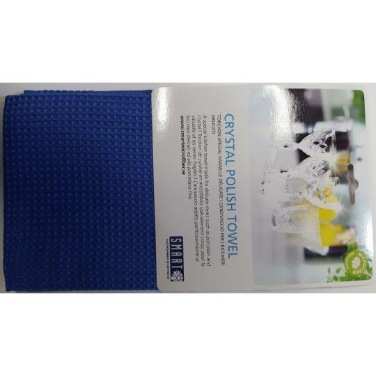 Smart Microfiber Полотенце для ценной посуды 40х60 синее