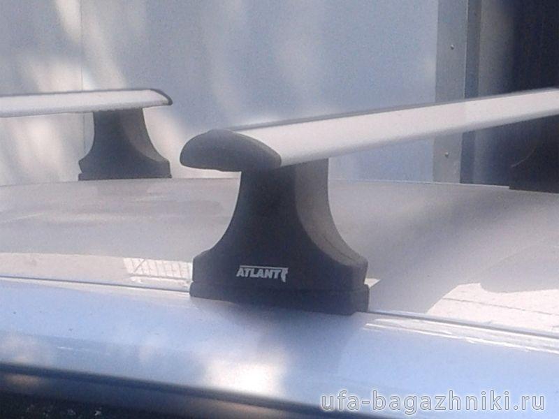 Багажник на крышу Ford Mondeo MK3 2001-07, Атлант, крыловидные аэродуги