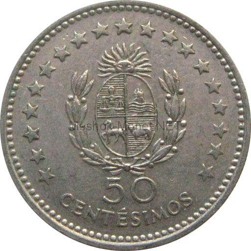 Уругвай 50 сентесимо 1960 г.