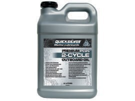 Масло Quicksilver TCW3 Premium Plus 2-Cycle Outboard Oil, 10л