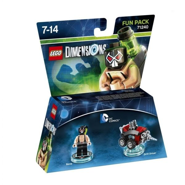 Lego Dimensions 71240 Fun Pack DC Comics (Bane)