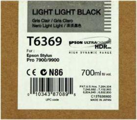 Картридж оригинальный EPSON T6369 светло-серый повышенной емкости для Stylus Pro 7900/9900 C13T636900