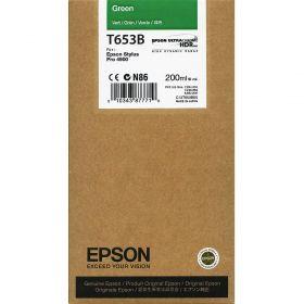 Картридж оригинальный EPSON T653B зеленый для Stylus Pro 4900 C13T653B00