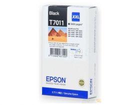 Картридж оригинальный EPSON T7011 черный экстраповышенной емкости для WP-4015/4095/4515/4595 C13T70114010