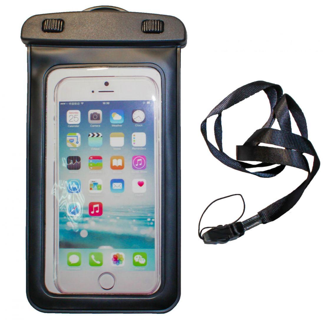 """Подводный чехол для телефона до 5,7"""" (пластик)"""