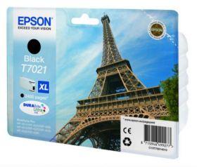Картридж оригинальный EPSON T7021 черный повышенной емкости для WP-4015/4095/4515/4595 C13T70214010