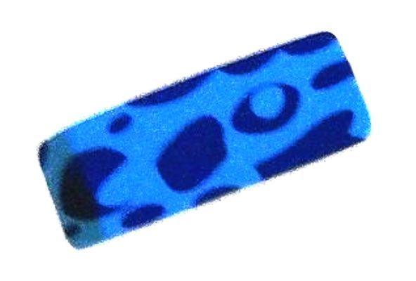 Сине-голубой ластик прямоугольный
