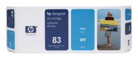 Картридж оригинальный Hewlett-Packard 83 Cyan (680 ml) C4941A