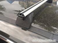 Багажник на крышу  Nissan X-Trail T32, Lux, аэродинамические дуги (53 мм)