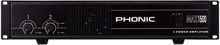 PHONIC MAX-1500 Усилитель мощности 2х450 Вт/4 Oм