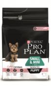 Pro Plan SMALL & MINI PUPPY SENSITIVE SKIN Корм для щенков мелких и карликовых пород с чувствительной кожей с лососем и рисом (700 г)
