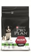 Pro Plan MEDIUM PUPPY Корм для щенков средних пород с курицей и рисом (12 кг)