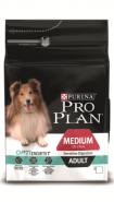 Pro Plan MEDIUM ADULT SENSITIVE DIGESTION Корм для собак средних пород с чувствительным пищеварением с ягненком и рисом (3 кг)