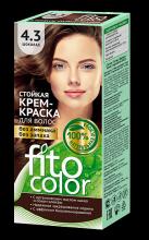 """Стойкая крем-краска для волос серии """"Fitocolor"""" тон шоколад 115 мл"""