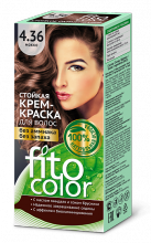 """Стойкая крем-краска для волос серии """"Fitocolor"""" тон мокко 115 мл"""