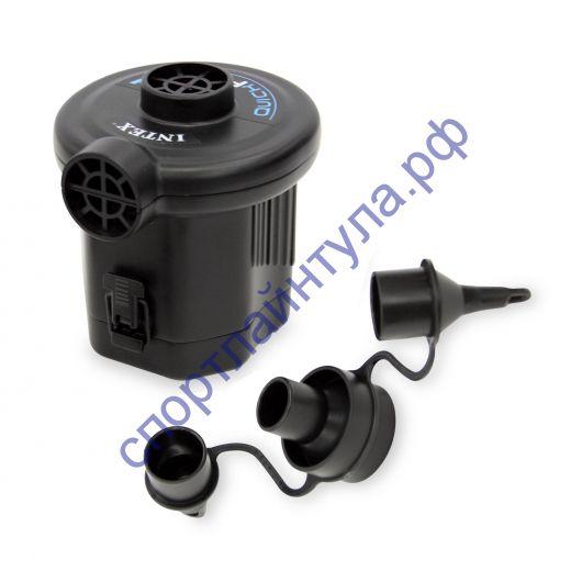 Электрический насос на батарейках (3 насадки), INTEX 68638