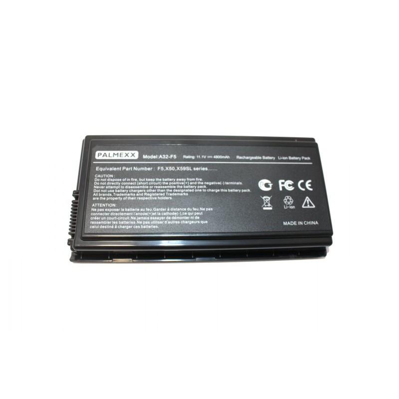 Аккумулятор PALMEXX A32-F5 для ноутбука Asus F5/X50/X59/Pro50/Pro55 (10,8V-5200mAh)