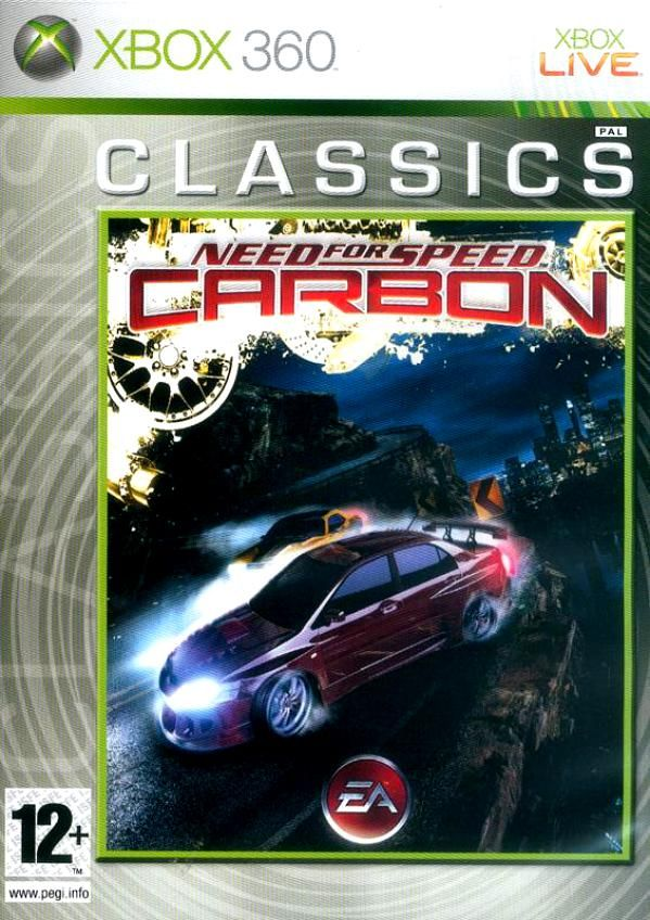 Игра Need For Speed Carbon (Xbox 360)