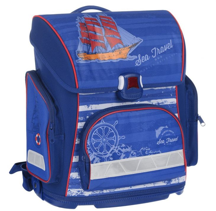 Ранец для мальчика Хатбер Optimum Sea Travel