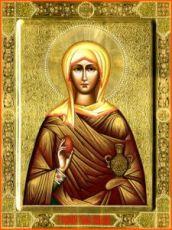 Икона Мария Магдалина (рукописная)