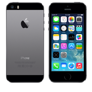 Apple iPhone 5S 64Gb LTE Space Gray без Touch ID