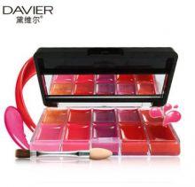 Блеск для губ 10 цветов Davier