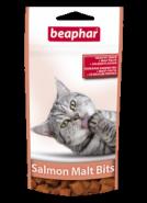 Beaphar Salmon Malt-Bits Подушечки для выведения шерсти со вкусом лосося (35 г)