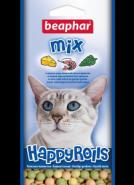 Beaphar Happy Rolls Mix Лакомство с креветками, сыром и кошачьей мятой для кошек (80 шт.)