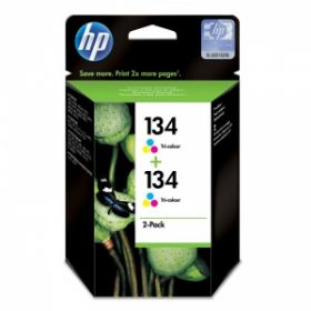 Картридж оригинальный HP № 134 2-pack Tri-color C9505HE