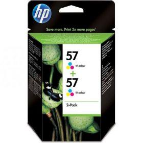 Картридж оригинальный HP № 57 2-pack Tri-color C9503AE