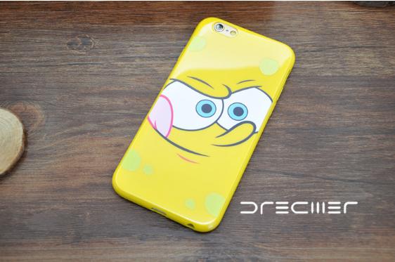 Силиконовый чехол iPhone 6/6s Sponge Bob #2