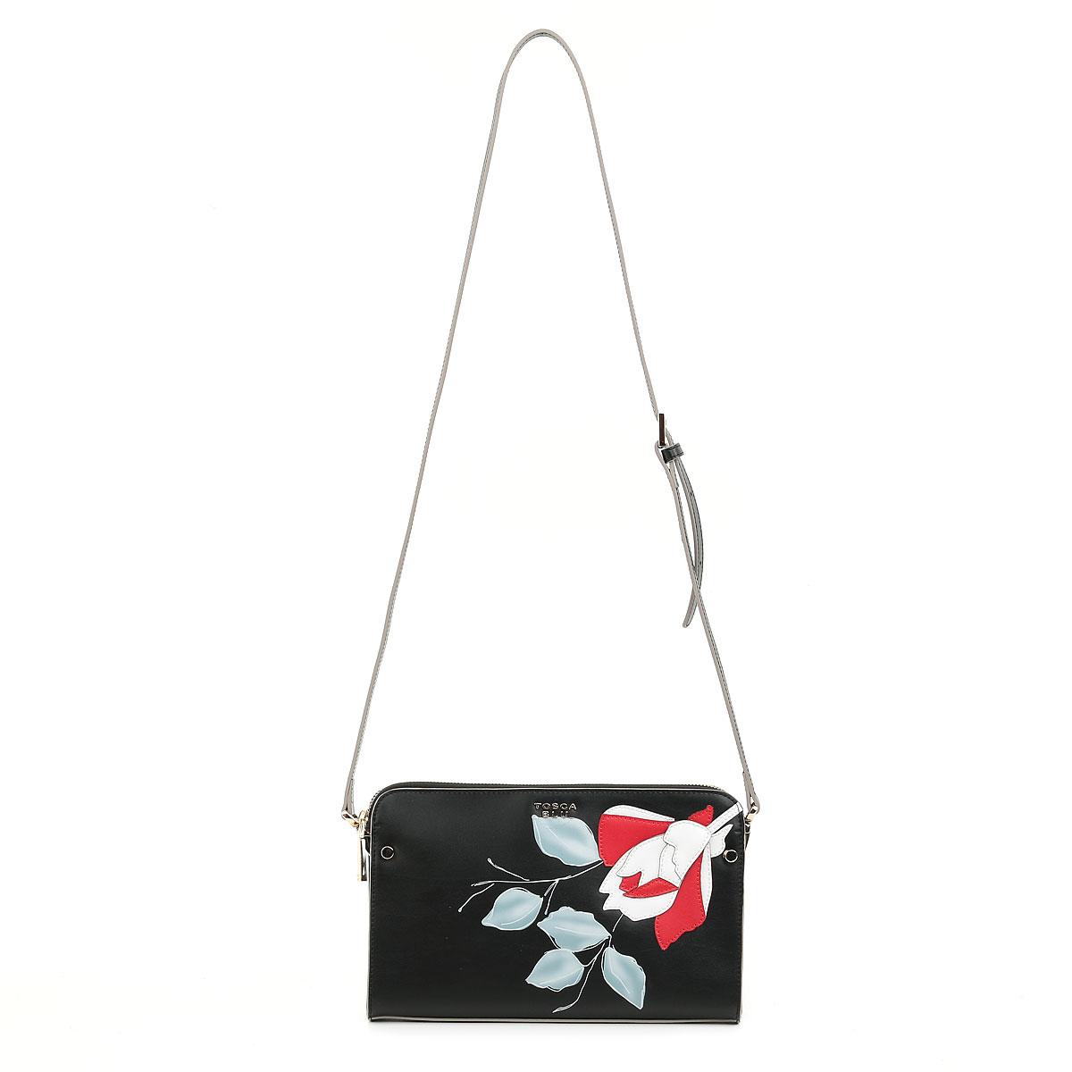 25de13d09d67 Купить чёрный клатч Tosca blu в интернет-магазине Bagroom