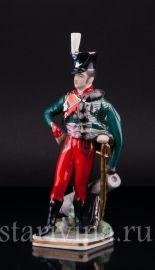 Наполеоновский гусарский офицер, 1812, Friedrich Wessel, Германия, 1949-64 гг