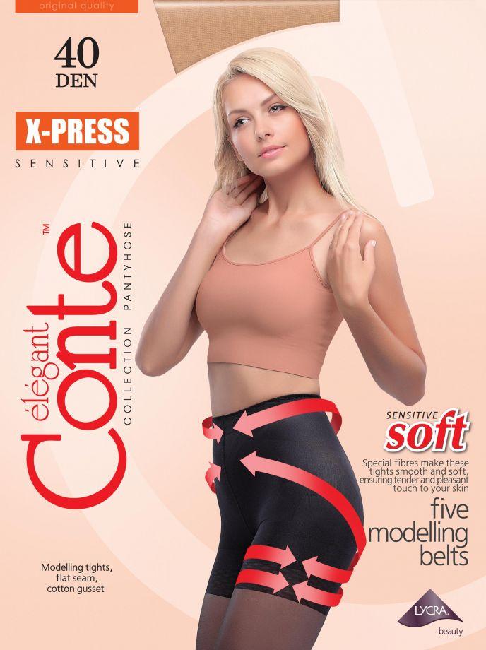 Колготки X-Press 40, Conte Беларусь.