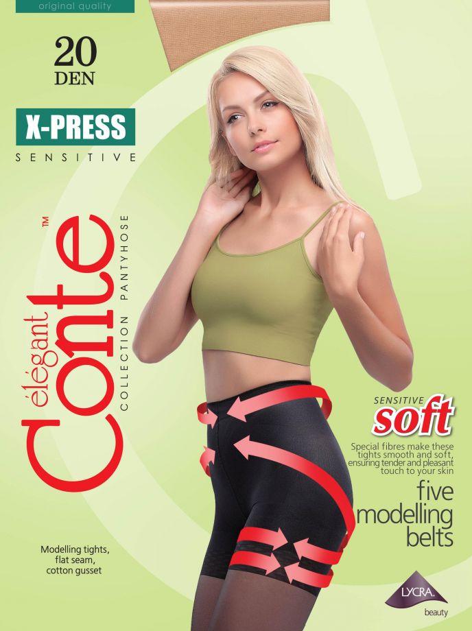 Колготки X-Press 20, Conte Беларусь.